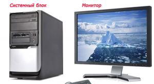 Из чего состоит персональный компьютер