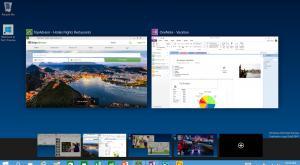Новая функция организации окон Windows приложений «Snap»